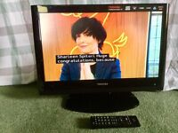 Toshiba 22-inch Widescreen HD Ready LCD TV with Freeview
