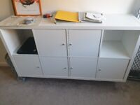 IKEA Expedit shelving unit with 6 cupboards