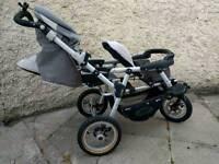 2 Seater Jane Pram/Stroller