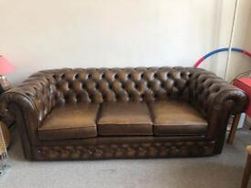Chesterfield sofa in perfect condition