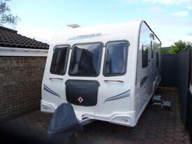 Bailey Pegasus 534,fixed bed caravan 2010