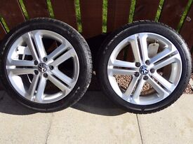 VW Alloy Wheels & Winter Tyres