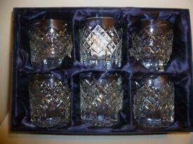 Stuart Crystal Whisky Tumblers