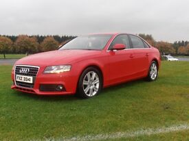 2010 AUDI A 4 TDI.. FULL BLACK LEATHER.. £30 RD TAX.. EVERY EXTRA AVAILABLE