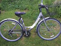 Ladies City Bike With Basket & Lock price inc delivery