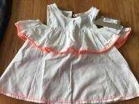 Girls (brand new )summery top M&S