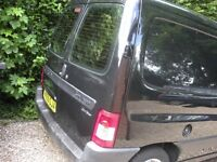 Black Berlingo 600HDI LX75 Diesel Excellent Condition 1 Owner 12 Months MOT Service History