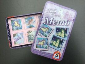 Bella Sara Magical Horse Memory Game, brandnew by Schmidt Games - ideal Present