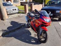 Kawasaki zx6r ninja 14k miles very clean long mot