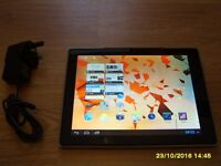 Hannspree - HSG1274 Tablet with Android OS & built in 1990's games