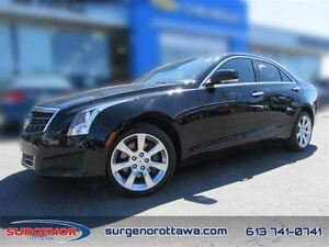 2014 Cadillac ATS 2.0L Turbo AWD Luxury  - Certified - Alloy Whe