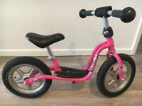 Girls PUKY balance bike