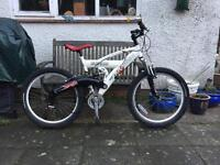 Saracen Gecko Full Suspension Mountain Bike