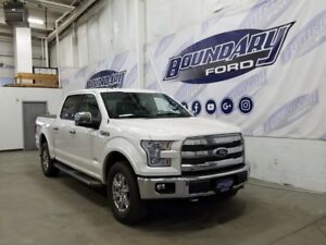 2015 Ford F-150 Lariat Chrome Package W/ Ecoboost, Leather