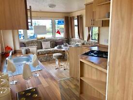 Stunning static caravan for sale Northumberland coast crimdon Dene