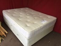 KING SIZE DIVAN BED WITH 4 DRAWS AND ORTHO MATTRESS,CAN DELIVER