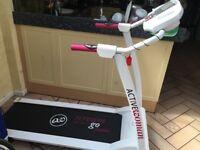 active woman treadmill