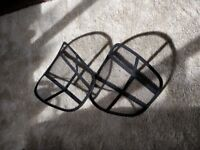 Free items, bix, mirror, back support for chair