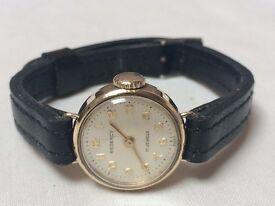 Stunning vintage Ladies solid 9k 9ct gold Regency watch