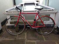 Vintage Raleigh pursuit road bike