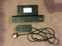 Dell PR02X Laptop Docking station WITH AC POWER ADAPTOR