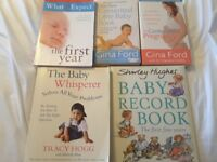 Baby book collection.