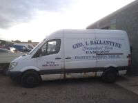 Mercedes Benz 311cdi 2008 year new shape van breaking spare parts available