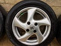 wheels peugeot
