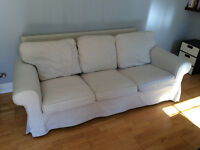 3-seat IKEA sofa in immaculate condition