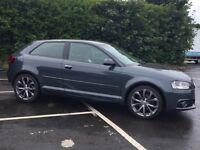 Audi A3 1.2 TFSI black EDTION s line front