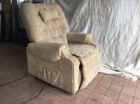 Reclining Chair (Dual Heating, Fully Remote, Recline and Auto Lift Aid)