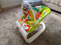 Fisher-Price Friends Comfort Curve Bouncer Baby Chair (Perfect Condition)