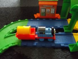 Fisher Price My First Thomas and Friends Tank Engine Train set 18 months +