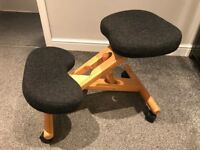 Ergonomic Kneeling Chair Charcoal