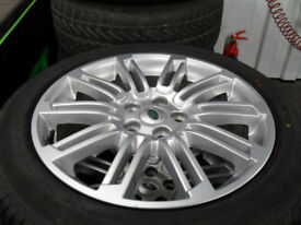 DISCOVERY3/4 ALLOY WHEELS AND TYRES