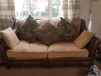 2 X Oversize sofas 1x2 seater 1x3seater