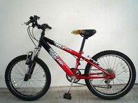 "(1704) 20"" 11"" RALEIGH Boys Girls Kids Childs MOUNTAIN BIKE BICYCLE; Age: 6-9 Height: 120-140 cm"