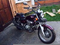 Hyosung 124cc motorcycle
