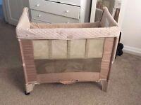 Award-winning ArmsReach Bedside sleeper / Bassinet / Play yard