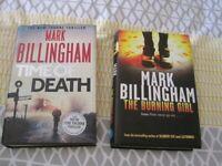 2 x Mark Billingham books