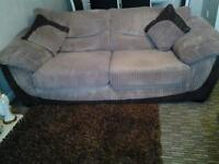 3seater and 2 seater sofas excellent condition. Quick sale required .from a smoke free home