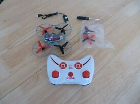 Remote controlled quad copter