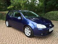 Vw Golf 1.9 TDI Sport, 3 Door, 6 Speed Manual, Blue, 2005, 1 Owner, Excellent Condition