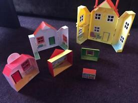 peppa pig doll house toy