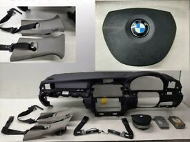 Airbag kit Dashboard, Driver Passenger Seat Belts & Pretensioners BMW 5 series F10 2010 UK type