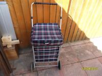 as new condition shopping trolley