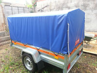 Car box trailer, like new £ 520, Delivery available.