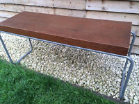 Ikea brown bench/ side table/ coffee table