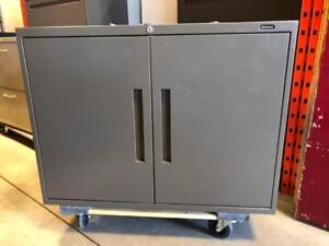 Global Boulevard Low Storage Cabinet - $85