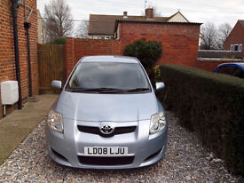 2008 TOYOTA AURIS 2.0 D4D, 6 SPEED MANUAL, ONLY 85000 MILES, SERVICE HISTORY, NEW MOT, 50+ MPG.